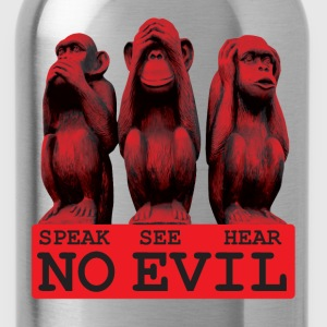 No Evil at all T-Shirts - Water Bottle