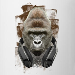 MUSIC LOVER GORILLA VI - Coffee/Tea Mug