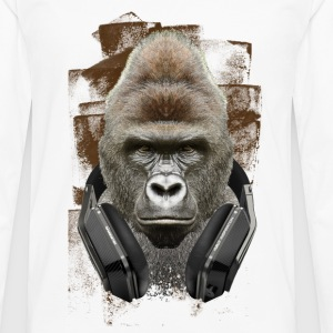 MUSIC LOVER GORILLA VI - Men's Premium Long Sleeve T-Shirt