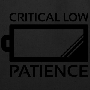 Critical Low Patience Hoodies - Eco-Friendly Cotton Tote