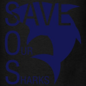 Save Our Sharks Hoodies - Men's T-Shirt