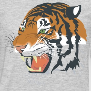 Ferocious tiger head T-Shirts - Men's Premium Long Sleeve T-Shirt