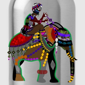 Africa elephant art T-Shirts - Water Bottle