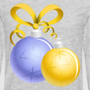 Christmas decoration balls T-Shirts - Men's Premium Long Sleeve T-Shirt