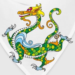 Dragon decoration pattern T-Shirts - Bandana