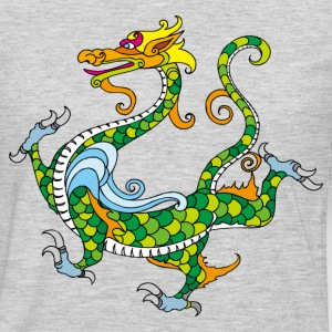 Dragon decoration pattern T-Shirts - Men's Premium Long Sleeve T-Shirt