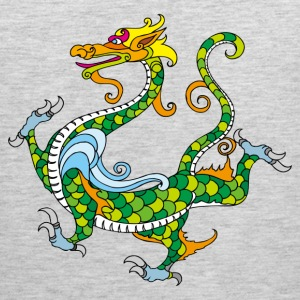 Dragon decoration pattern T-Shirts - Men's Premium Tank