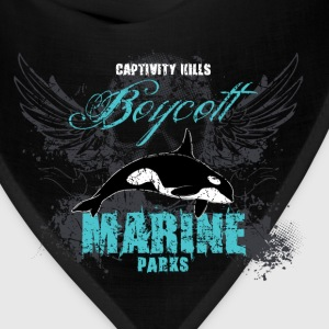 Captivity Kills Orca design by Calico Dragon Tanks - Bandana