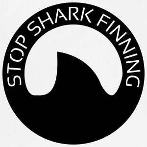 Stop Shark Finning Buttons - Adjustable Apron