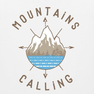 Mountains Calling - Men's Premium Tank