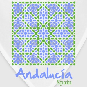 Andalusian Tiles 7 T-Shirts - Bandana