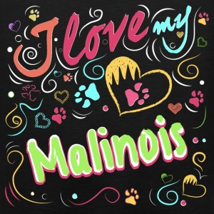 I love my malinois - Men's Premium Tank