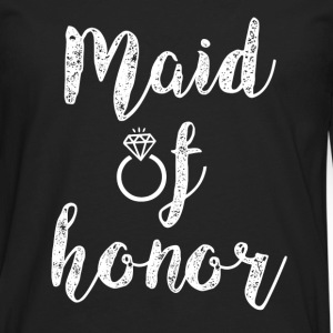 Maid of Honor women's shirt - Men's Premium Long Sleeve T-Shirt