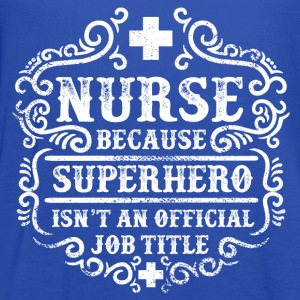 Nurse - Superhero T-Shirts - Women's Flowy Tank Top by Bella