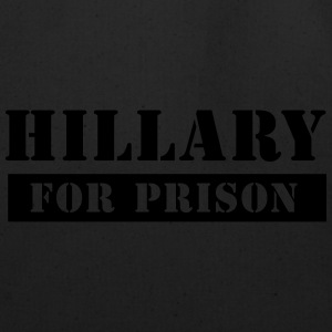 Black/Orange Hillary for Prison Cap - Eco-Friendly Cotton Tote