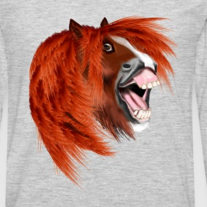 THE LAUGHING PONY - Men's Premium Long Sleeve T-Shirt