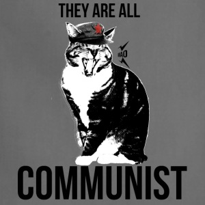 All cats are Communist - Adjustable Apron