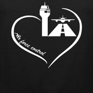Air Traffic Control Heart - Men's Premium Tank