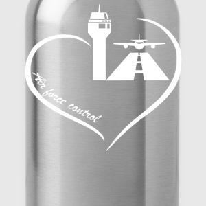 Air Traffic Control Heart - Water Bottle