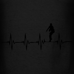 Heartbeat Baseball - Men's T-Shirt
