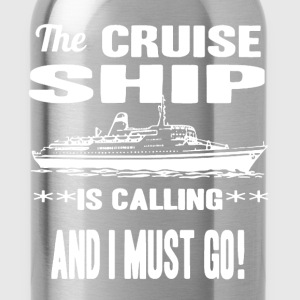 Cruise Ship Shirt - Water Bottle