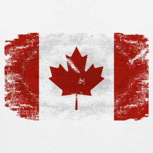 Maple Leaf- Canadian Flag T-Shirts - Men's Premium Tank