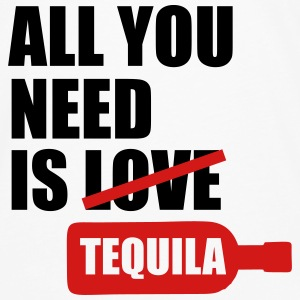 All you need is tequila Tanks - Men's Premium Long Sleeve T-Shirt