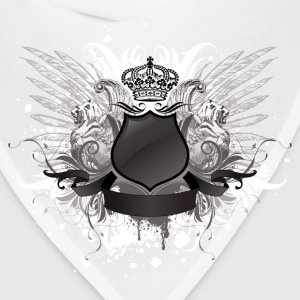 Crown shield with wings - Bandana