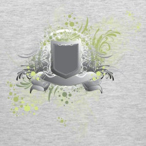 Shield abstract art T-Shirts - Men's Premium Tank