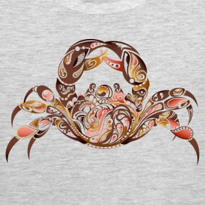 Sea animals crab design T-Shirts - Men's Premium Tank