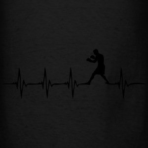 Heartbeat Boxer - Men's T-Shirt