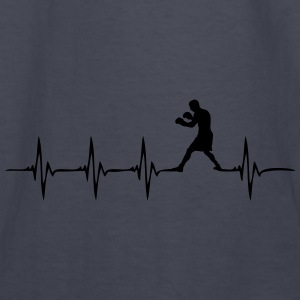 Heartbeat Boxer - Kids' Long Sleeve T-Shirt