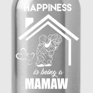 Happiness Is Being Mamaw - Water Bottle