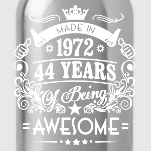 Made In 1972 Shirt - Water Bottle