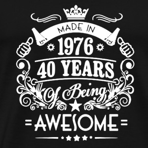 Made In 1976 Shirt - Men's Premium T-Shirt