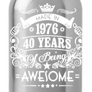 Made In 1976 Shirt - Water Bottle