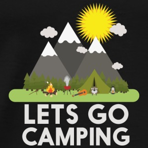 Lets go Camping Tanks - Men's Premium T-Shirt