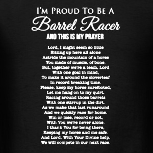 Barrel Racers Shirt - Men's T-Shirt