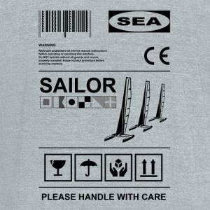Sailor label Mugs & Drinkware - Unisex Tri-Blend T-Shirt by American Apparel