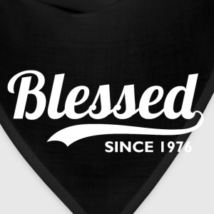 Blessed Since 1976 40th Birthday Thanksgiving - Bandana