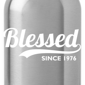 Blessed Since 1976 40th Birthday Thanksgiving - Water Bottle