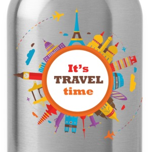 vk-travel-time.png T-Shirts - Water Bottle