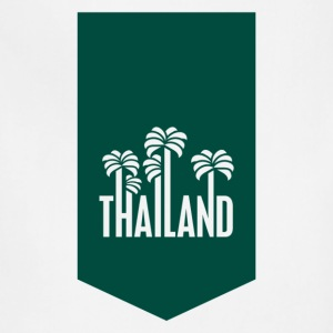 Thailand travel stamp T-Shirts - Adjustable Apron