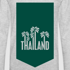 Thailand travel stamp T-Shirts - Men's Premium Long Sleeve T-Shirt