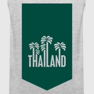 Thailand travel stamp T-Shirts - Men's Premium Tank
