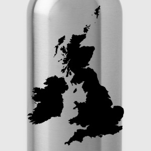 England map silhouette T-Shirts - Water Bottle
