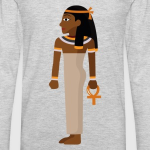Ancient Egypt Mayan art picture T-Shirts - Men's Premium Long Sleeve T-Shirt
