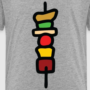Grill spit colorful Kids' Shirts - Toddler Premium T-Shirt