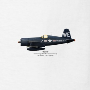 Joe McPhail's F4U-4 Mugs & Drinkware - Men's T-Shirt