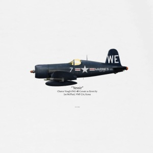 Joe McPhail's F4U-4 Mugs & Drinkware - Men's Premium T-Shirt